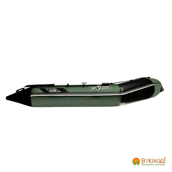 лодка надувная четырехместная с-330